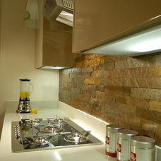 Contemporary Kitchen by Island Stone