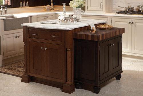 Kitchen Islands By Wellborn Cabinet, Inc.