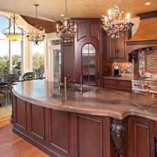 Traditional Kitchen by Granite Tops