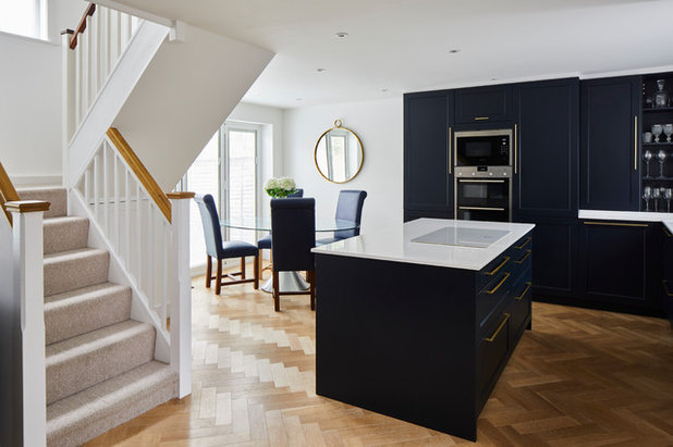Transitional Kitchen by PlaceDesign Kitchens and Interiors