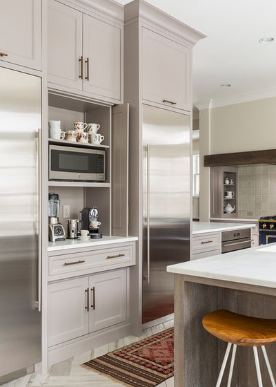 Kitchen by Kate Roos Design LLC