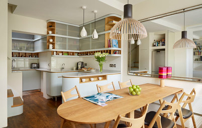 How to Fill the Space Above Kitchen Cabinets