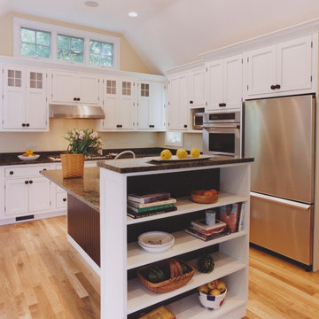 it is but a cottage - the kitchen
