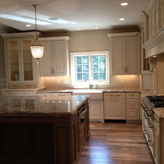 traditional kitchen by Jeffrey Homes LLC