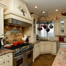 Traditional Kitchen by Archevie Design