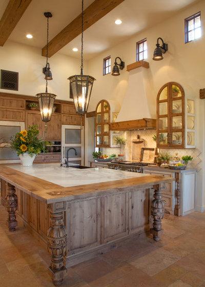 Mediterranean Kitchen by Leanne Michael L U X E lifestyle design