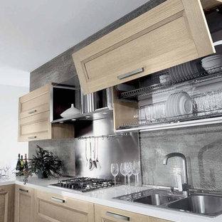 Inspiration for a contemporary kitchen remodel in Miami