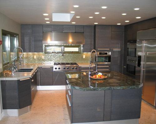 Italian kitchen design houzz for Italian kitchen design