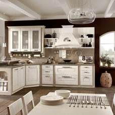 Contemporary Kitchen by Yamini Kitchens & More