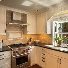 Mediterranean Kitchen by McAdams Remodeling & Design