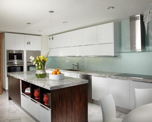 SaveEmail - Best Glass Backsplash Kitchen Design Ideas & Remodel Pictures Houzz