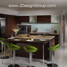 Contemporary Kitchen by J Design Group - Interior Designers Miami - Modern