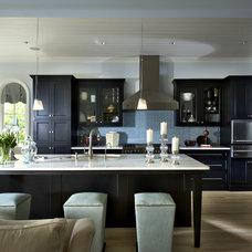 Transitional Kitchen by J. Hirsch Interior Design, LLC