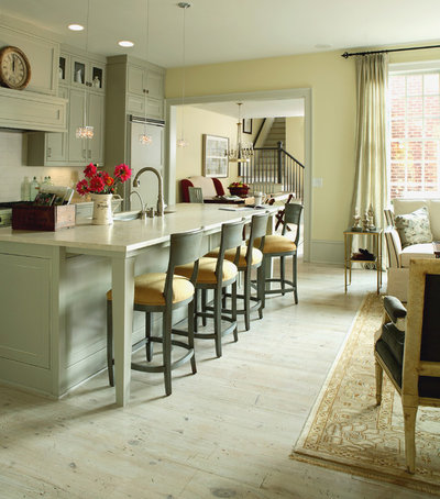 Transitional Kitchen by J. Hirsch Interior Design, LLC