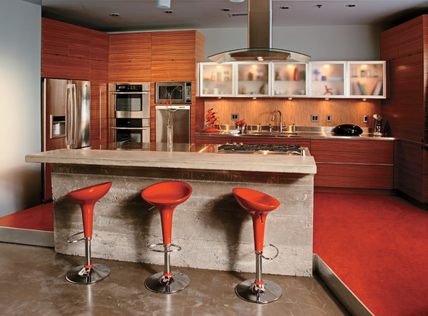 Contemporary Kitchen by Karlson Kitchens
