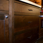 Old World Charm Rustic Kitchen Oklahoma City By