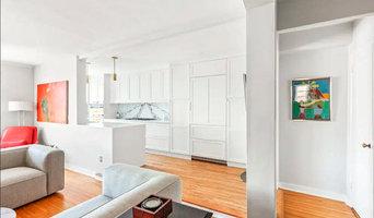 Jackson Heights NYC White Shaker + Paonazzo Marble