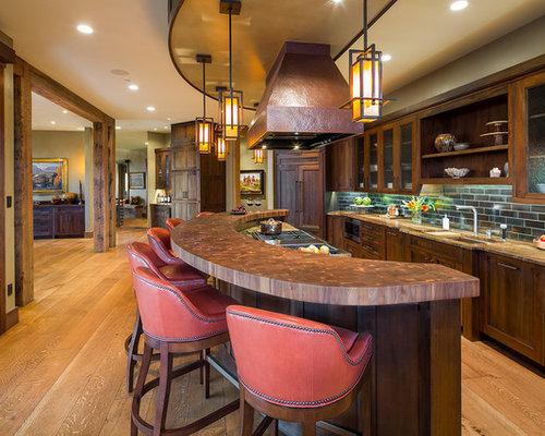 Ideas para cocinas | Fotos de cocinas comedor rústicas con ...