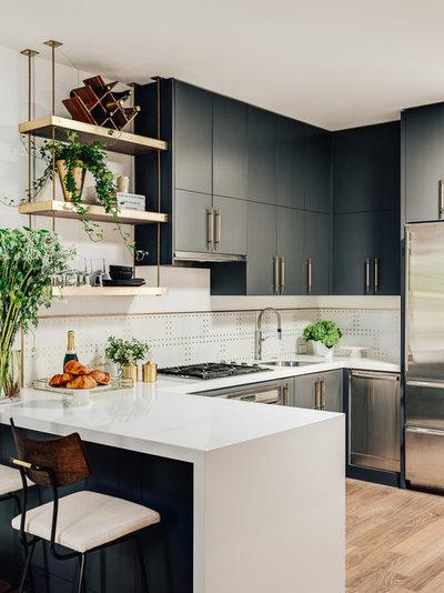 Contemporary Kitchen by Deniece Duscheone Design