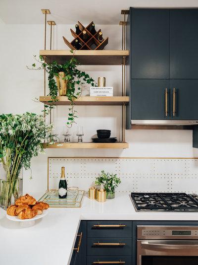 モダン キッチン by Deniece Duscheone Design