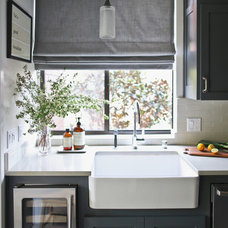 Transitional Kitchen by Catherine Kwong Design