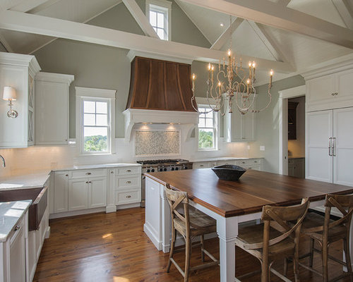 Horizon gray design ideas remodel pictures houzz for Horizon benjamin moore grey