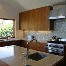 Contemporary Kitchen by Lewis / Schoeplein architects
