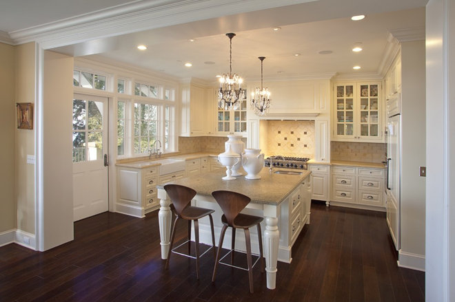 Traditional Kitchen by Jacobson Interior Design