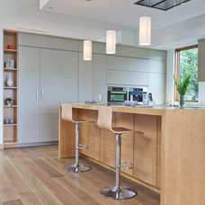 Contemporary Kitchen by Building Solutions and Design, Inc