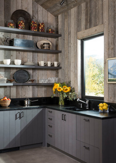 Rustic Kitchen by Jada Windows