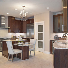 Transitional Kitchen by Kimberley Homes