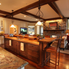 Traditional Kitchen by Current Concepts Home Automation