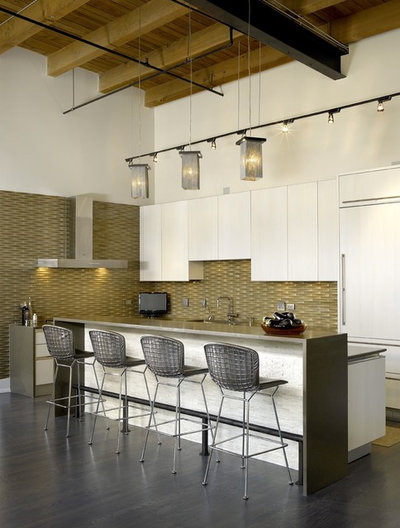 Industriel Cuisine by jamesthomas Interiors