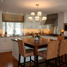 Traditional Kitchen by Gail G Carley, Architect