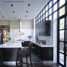 Contemporary Kitchen by Jamie Herzlinger