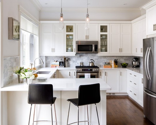 Small White Kitchen Ideas, Pictures, Remodel And Decor