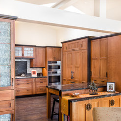 Anese Inspired Kitchen In Carmel Ca