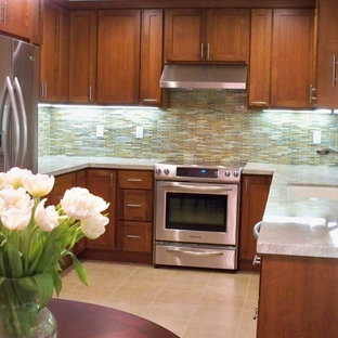 Asian kitchen designs - Inspiration for an asian kitchen remodel in San Francisco