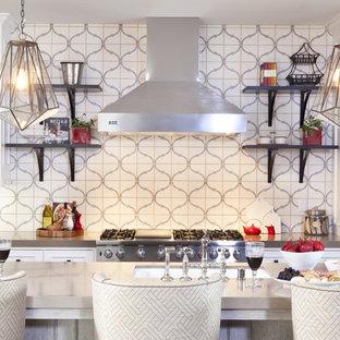 Arabesque Tile Backsplash Houzz
