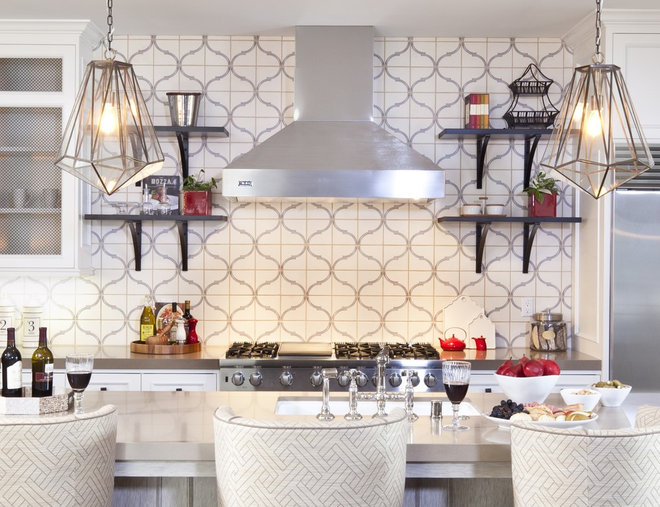 Eclectic Kitchen by D for Design