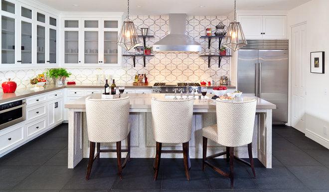 Mediterranean Kitchen by D for Design