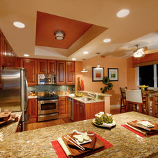 Eclectic Kitchen by SUSAN PETRIL, INTERIOR DESIGNS