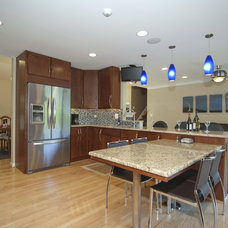 Contemporary Kitchen by Kirkpatrick's Construction, LLC.