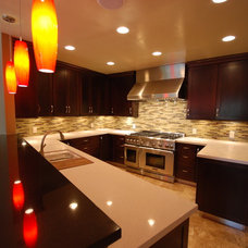 Contemporary Kitchen by Blue River Cabinetry