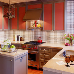 eclectic kitchen by Jeffers Design Group