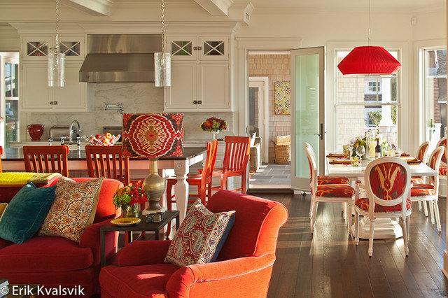 Eclectic Kitchen by JBM DESIGNS LLC