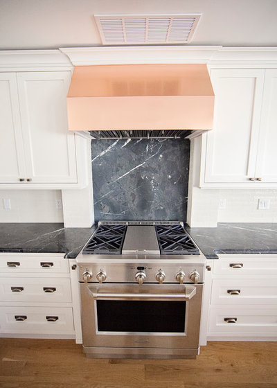 Transitional Kitchen by Thompson Fine Home Renovations