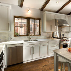 Transitional Kitchen by Woodsman Kitchen and Floors - Jeffrey Reed