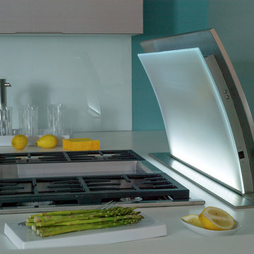 Jenn-Air Cooking Technology and Contemporary Cabinetry from Dura Supreme