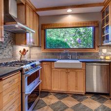 Traditional Kitchen by Rebecca Abraham Design